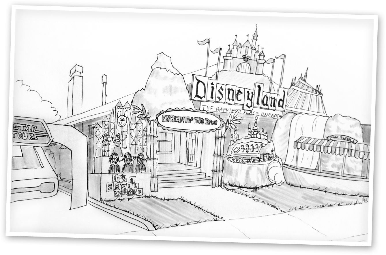 Disneyland Coloring Pages Photo 1 Coloring Pages For Free