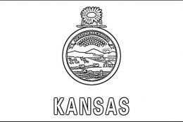 Kansas day coloring pages