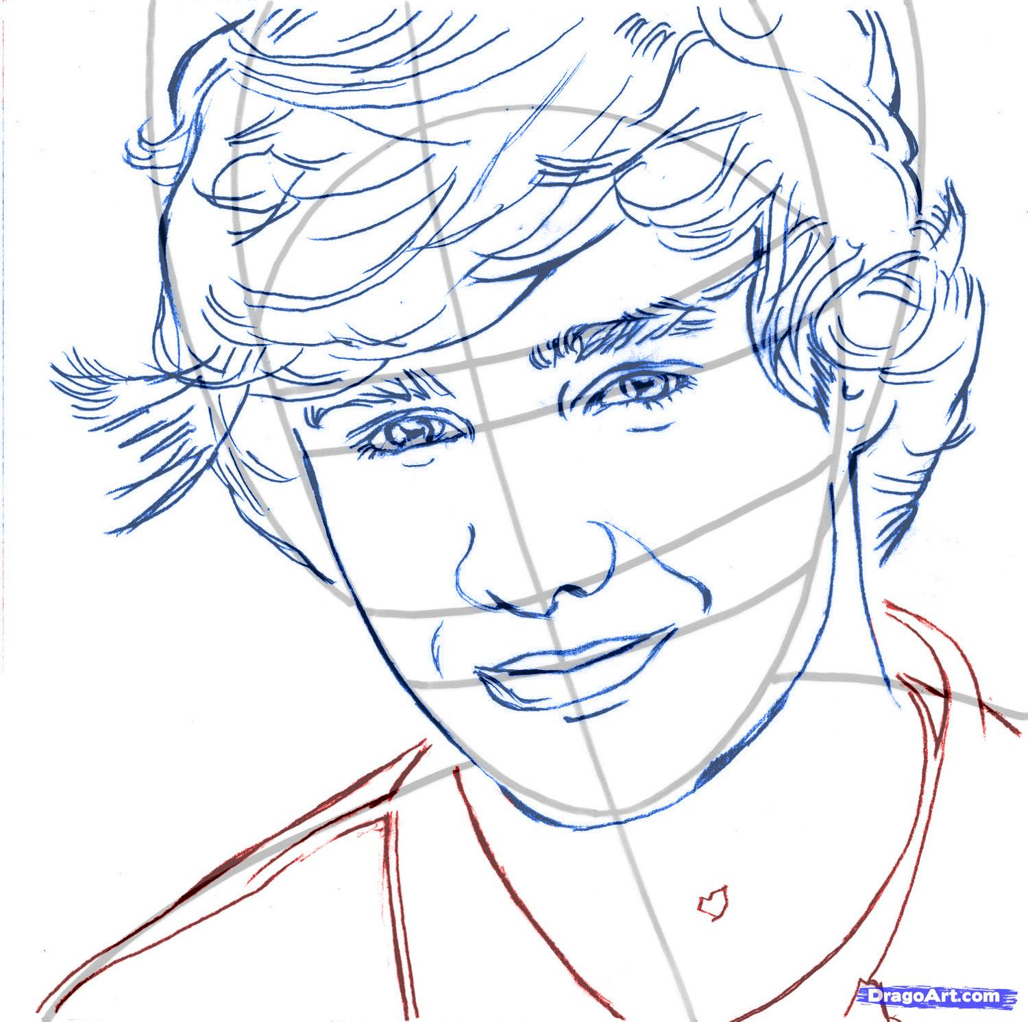 1 direction coloring pages photo - 1