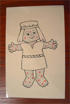 10 lepers coloring page photo - 1