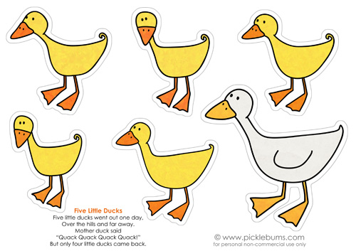 10 little rubber ducks coloring page photo - 1