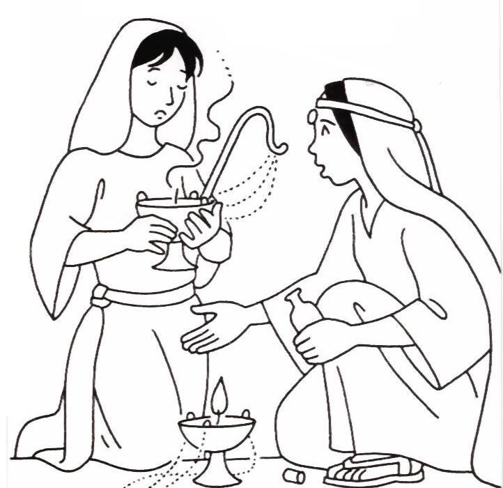 10 virgins parable coloring page photo - 1