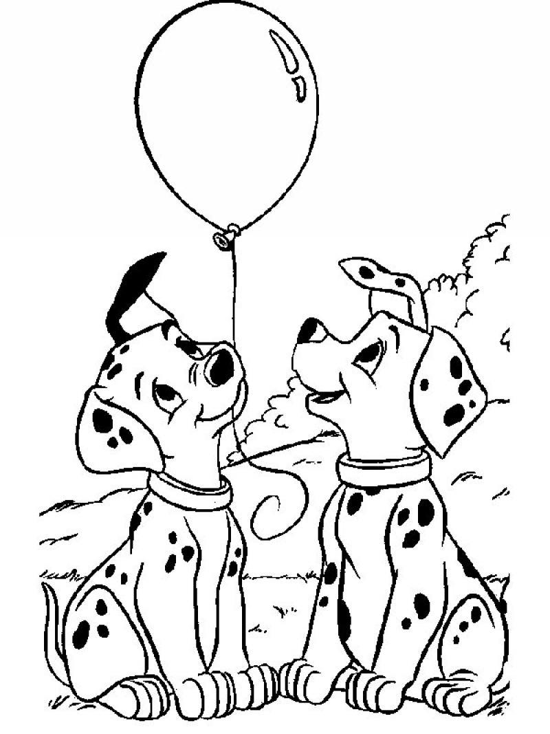 101 dalmatians coloring pages games photo - 1
