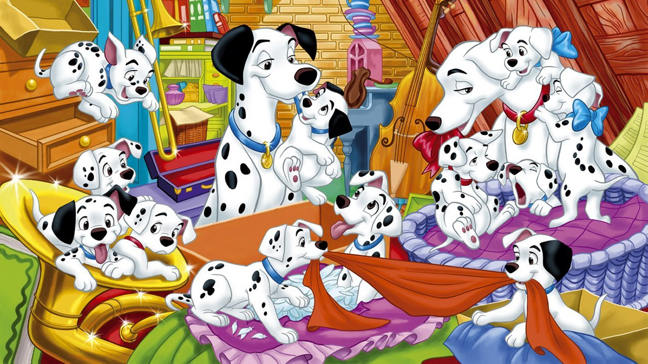 101 dalmation coloring book pages photo - 1
