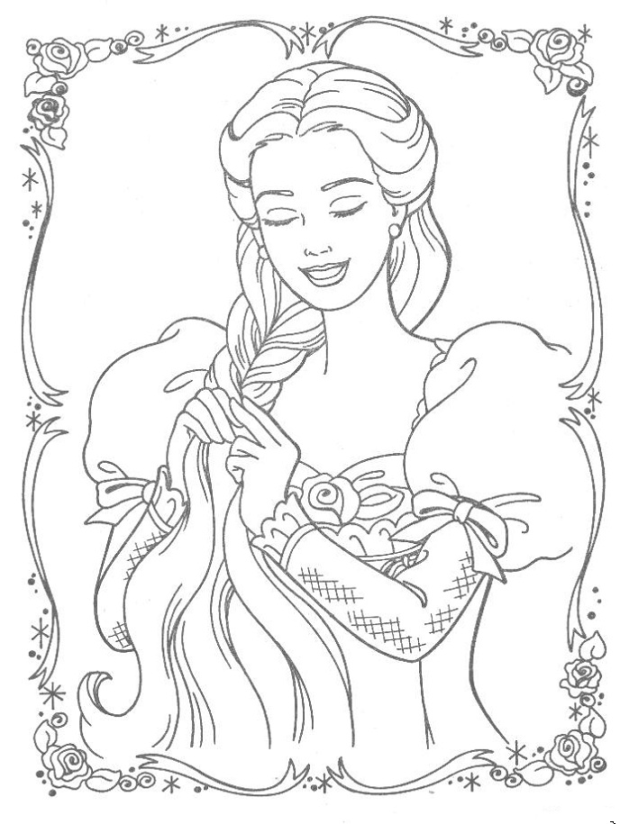 12 dancing princess coloring pages photo - 1