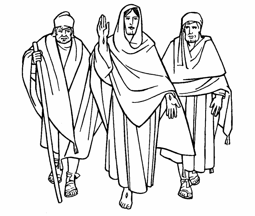 12 disciples free coloring pages photo - 1