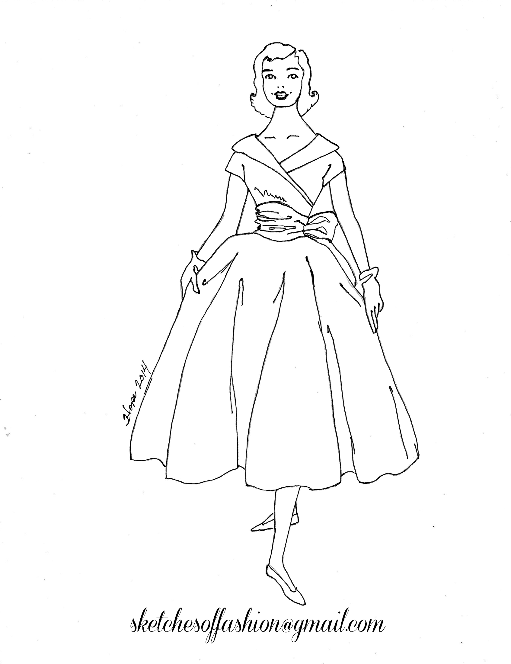 1950s coloring pages photo - 1