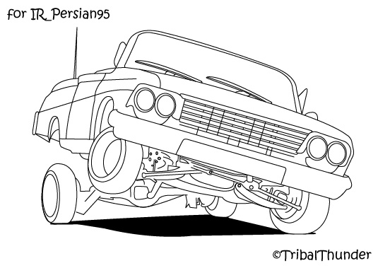 1964 impala coloring pages photo - 1
