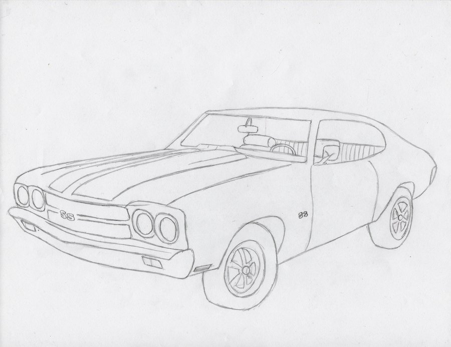 1970 chevelle coloring pages photo - 1