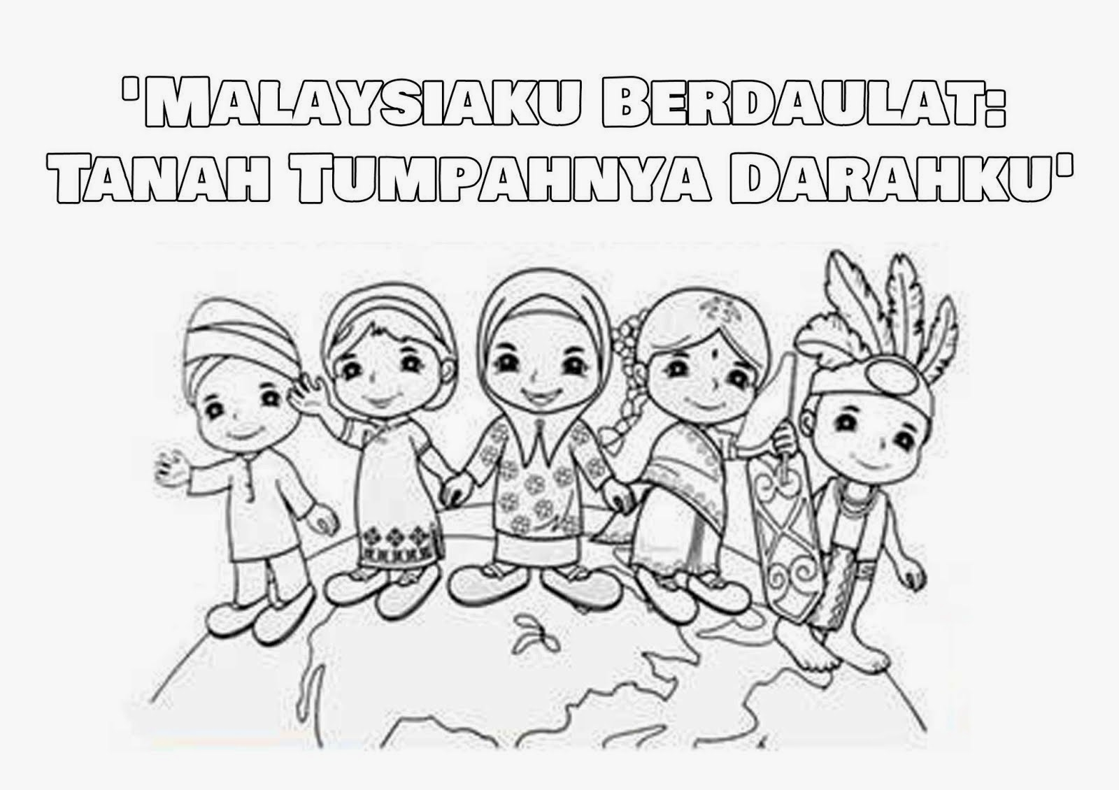 1malaysia coloring pages photo - 1