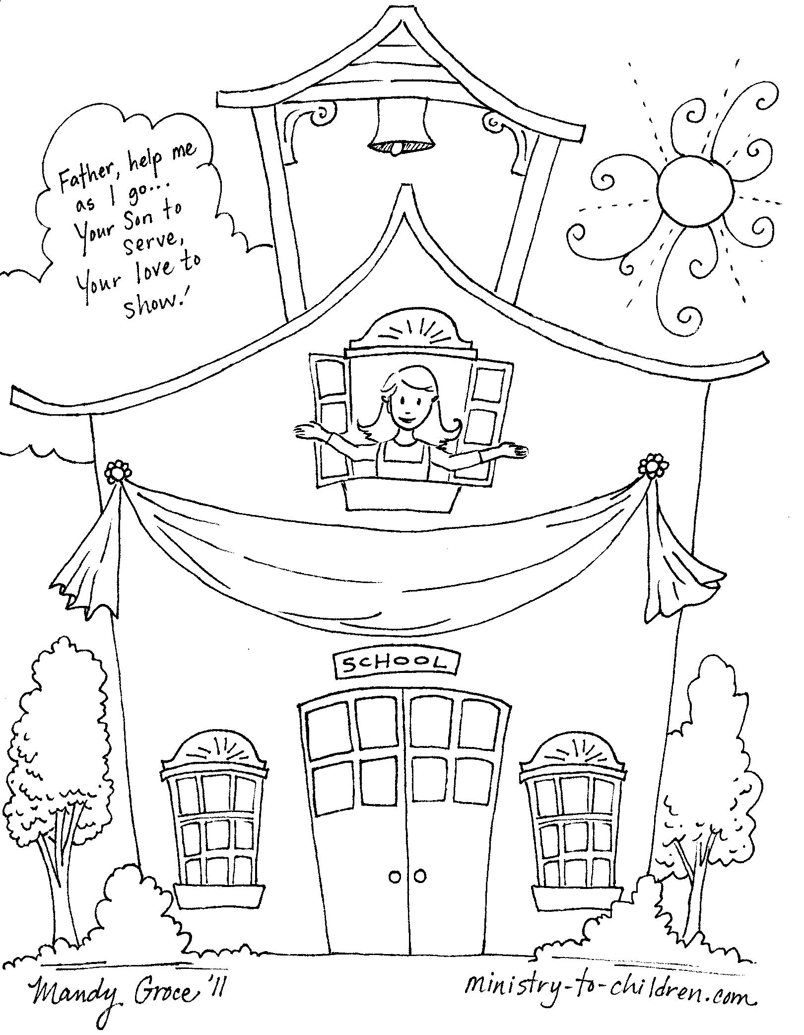 1st day of creation coloring page photo - 1