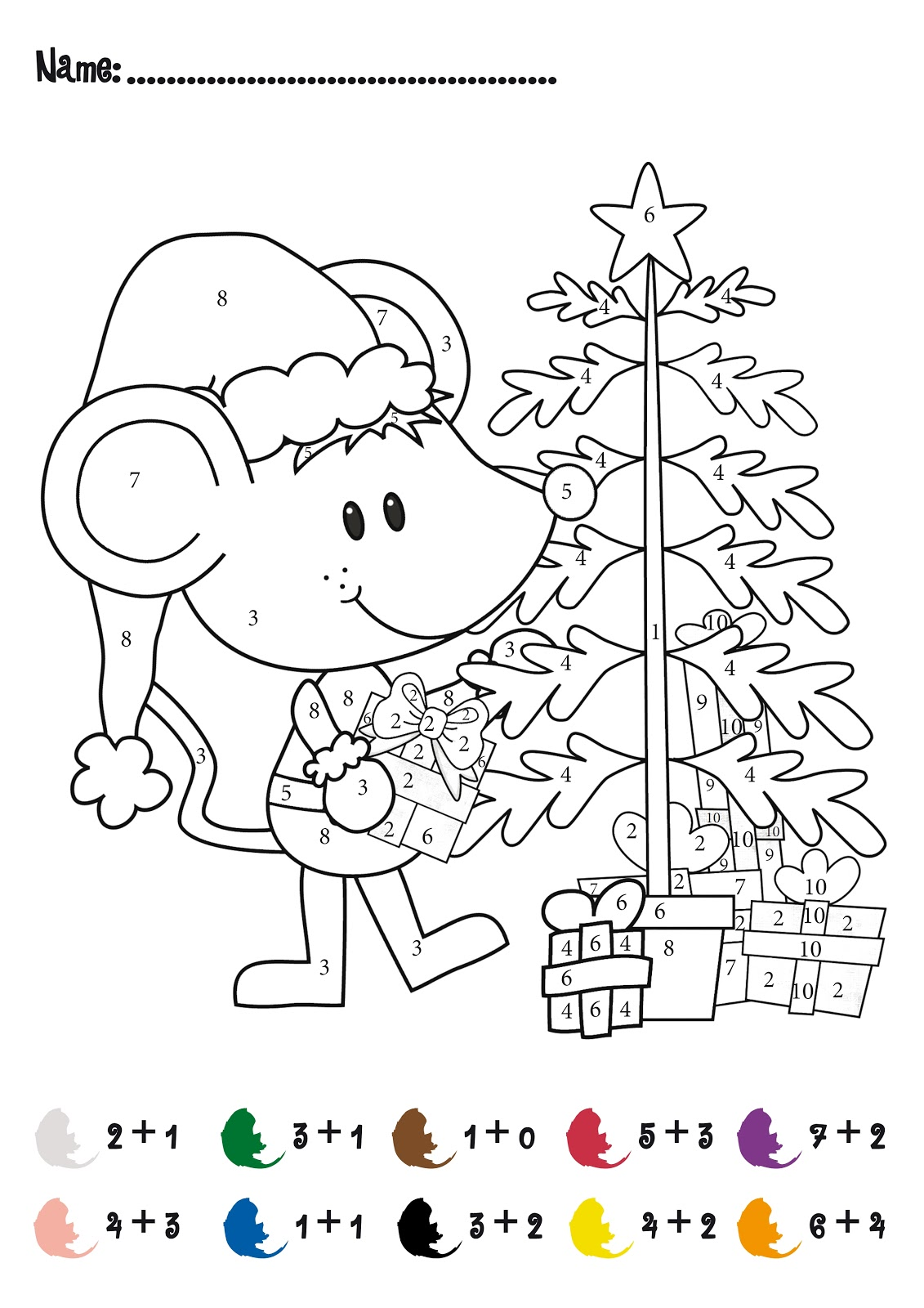 1st grade christmas coloring pages photo - 1