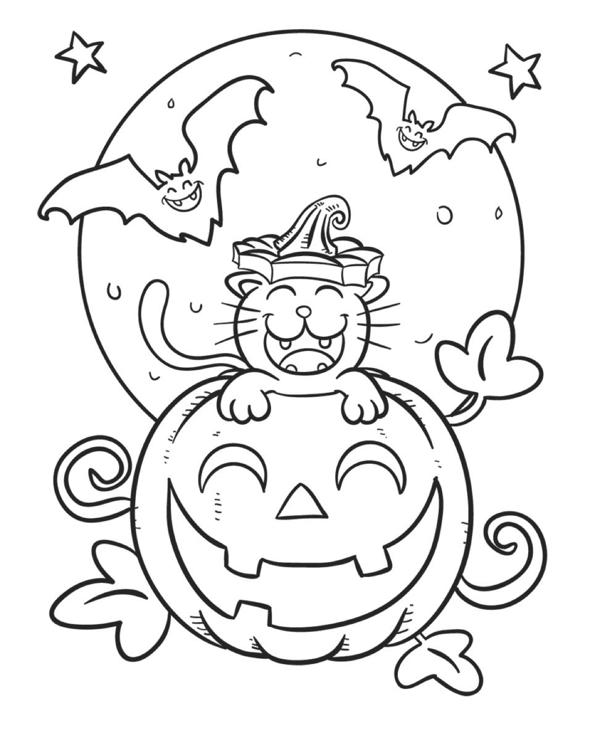 1st grade halloween coloring pages photo - 1