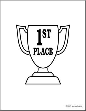 1st place ribbon coloring pages photo - 1