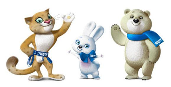 2010 winter olympics mascots coloring pages photo - 1