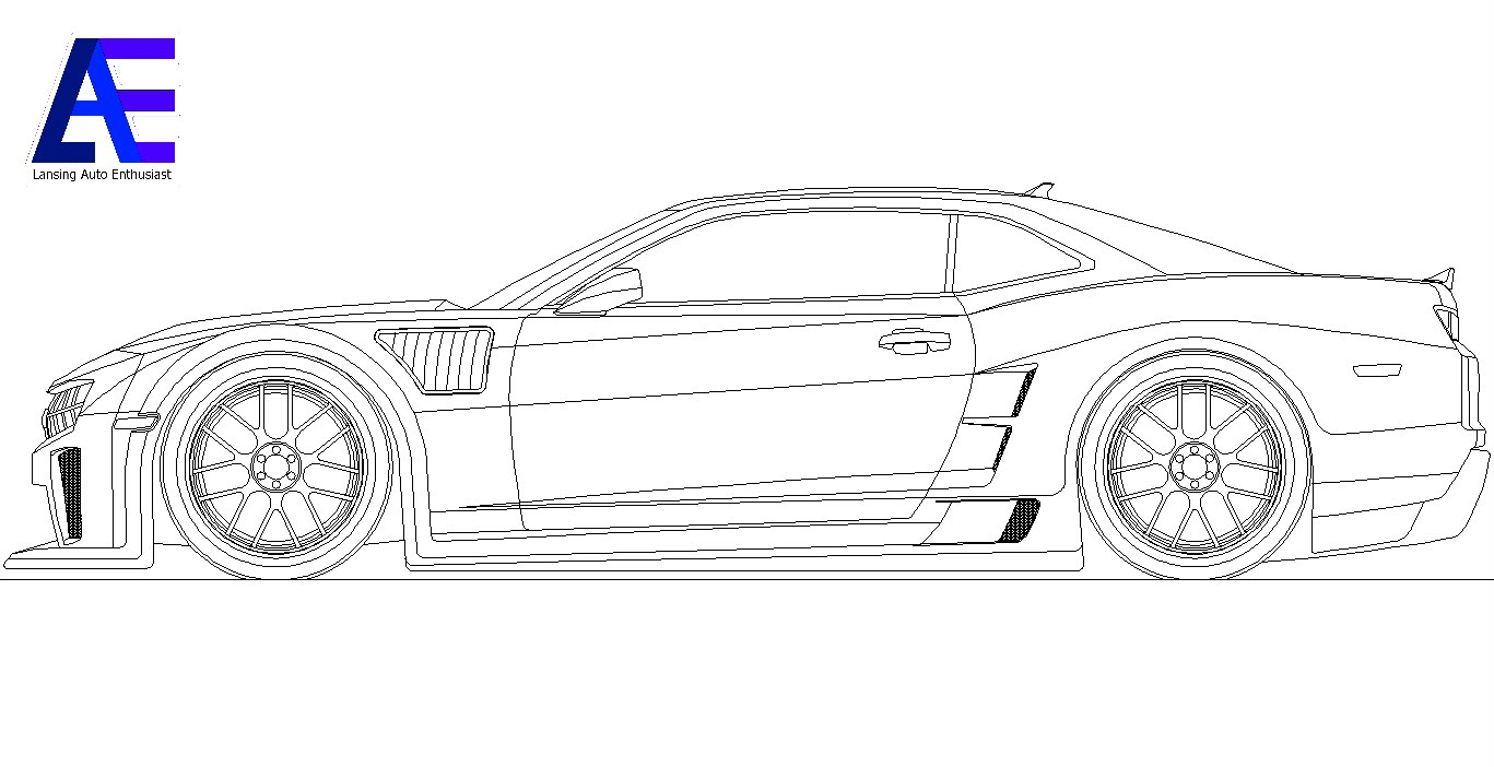 2012 camaro coloring pages photo - 1