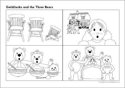 3 little bears coloring pages photo - 1