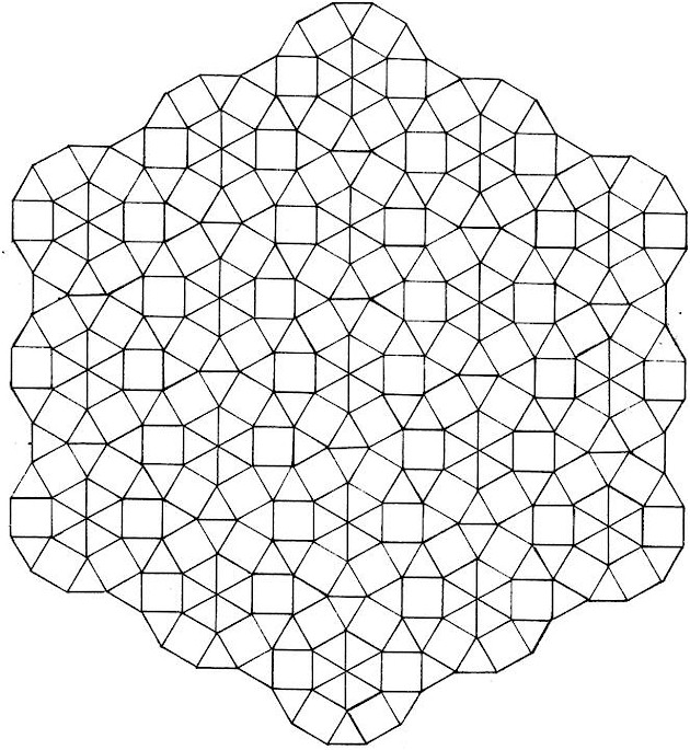 3d geometric shapes coloring pages photo - 1