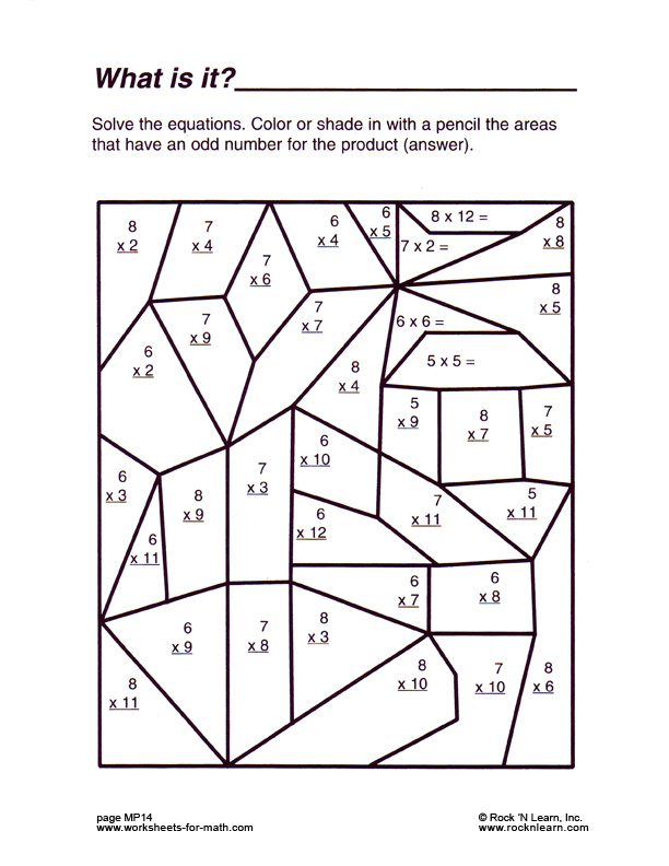 3rd grade educational coloring pages photo - 1