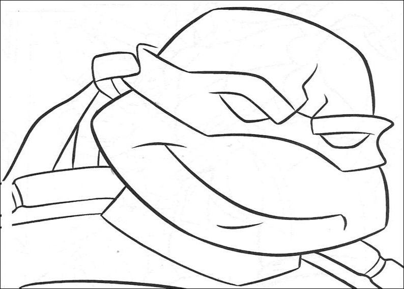 4 ninja turtles coloring pages photo - 1