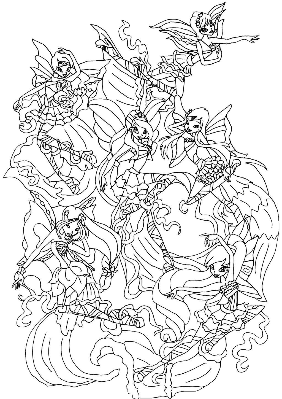 4 season coloring page photo - 1
