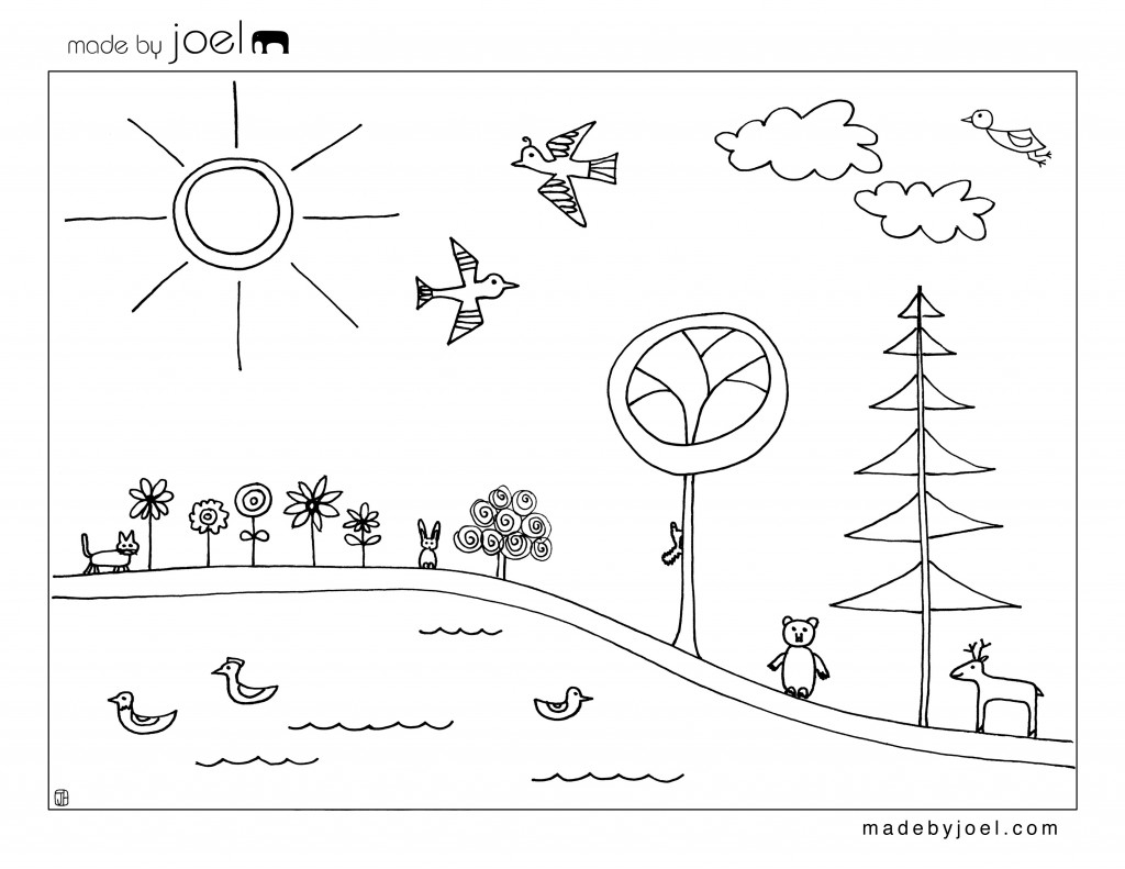 4th day of creation coloring pages photo - 1