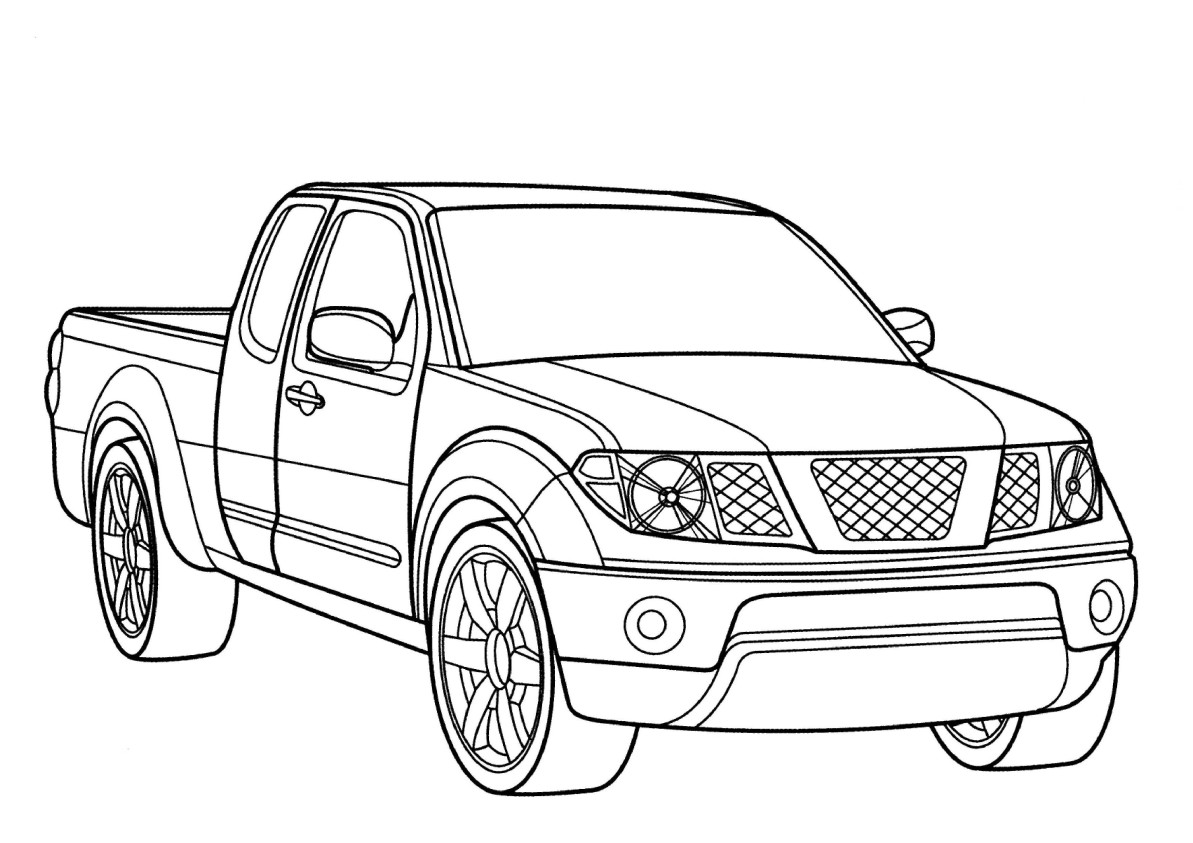 4x4 coloring pages photo - 1