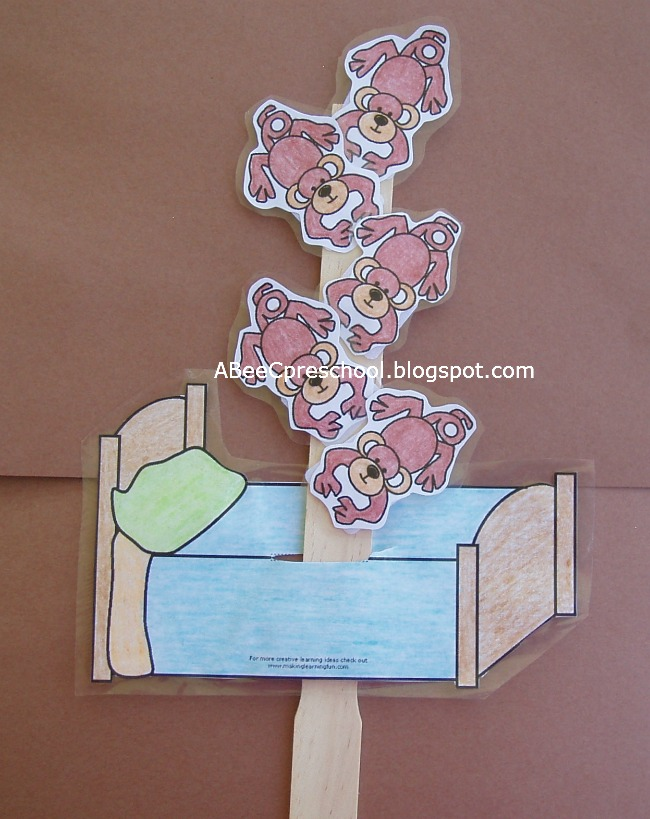 5 little monkeys jumping bed coloring pages photo - 1