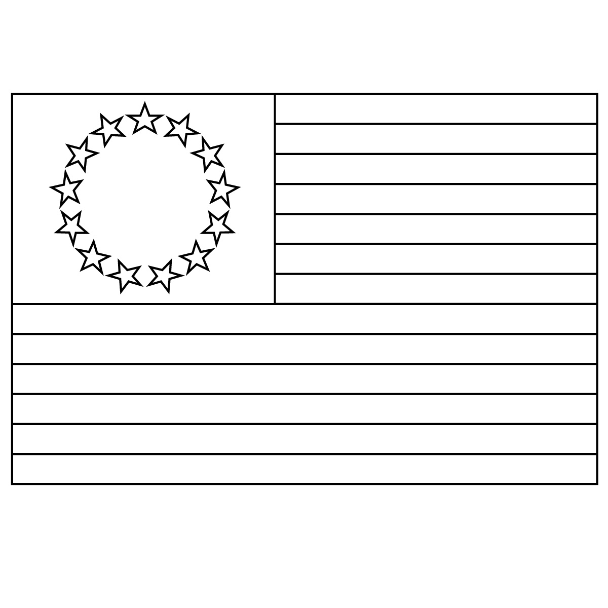 50 states flags coloring pages photo - 1