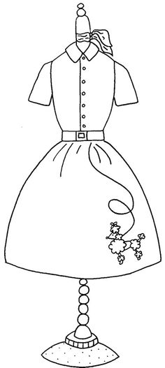 50s day coloring pages photo - 1