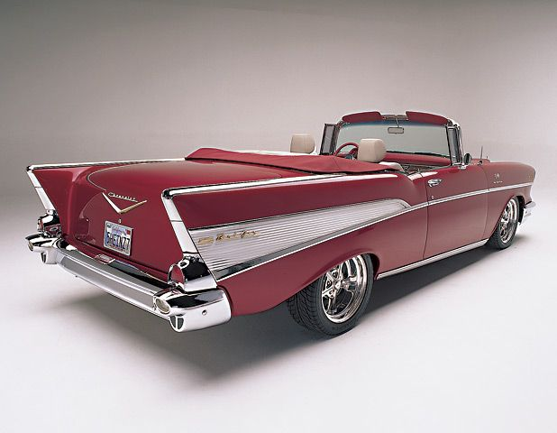 57 chevy bel air coloring page photo - 1