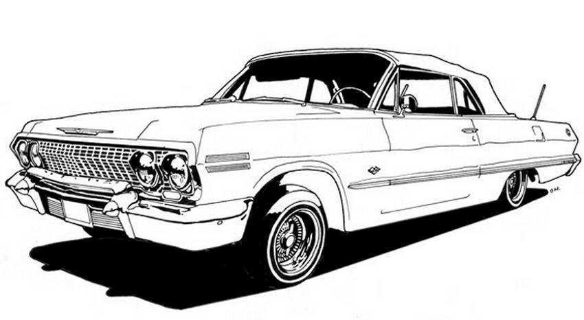 64 impala coloring pages photo - 1