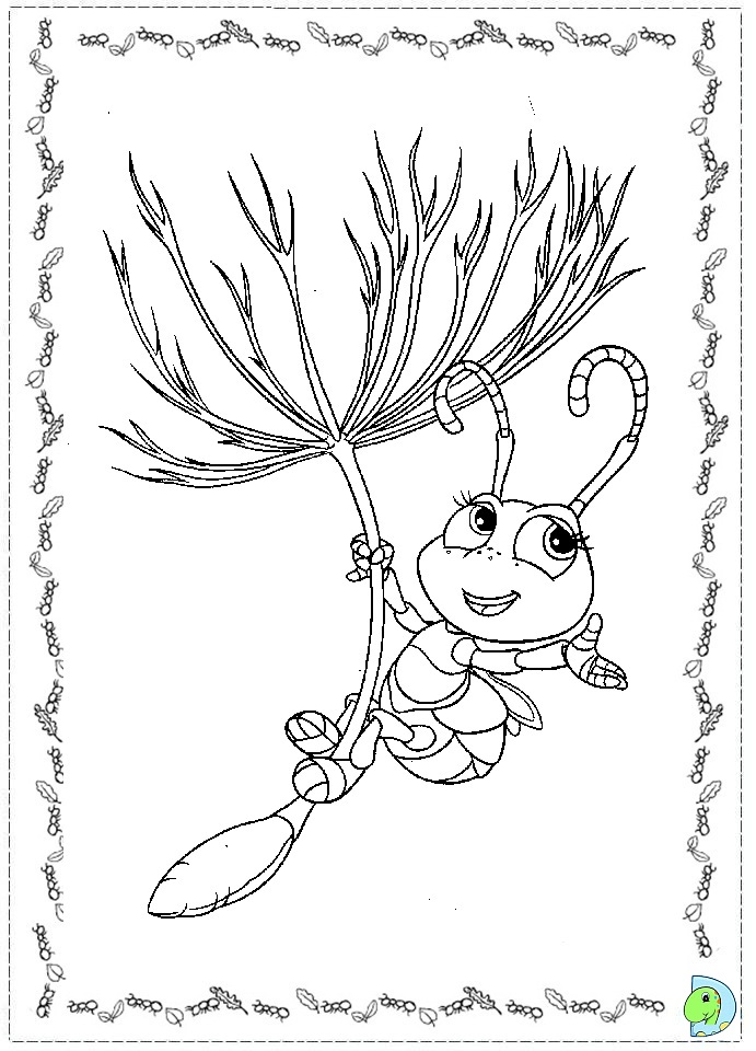 a bug life coloring pages photo - 1