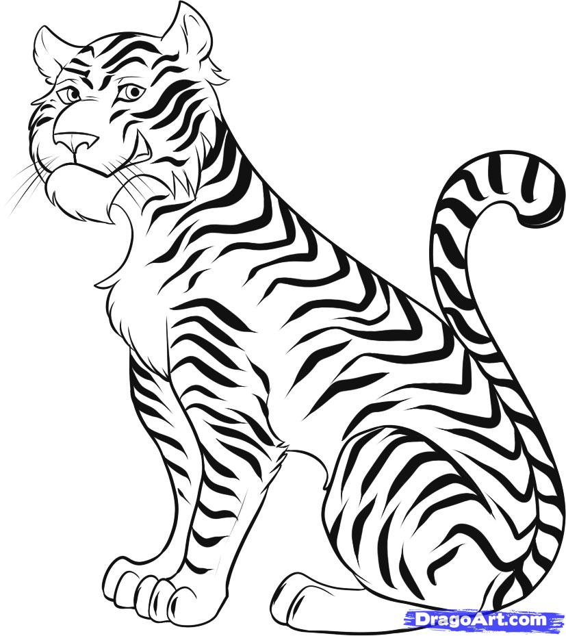 a coloring pages of animals photo - 1