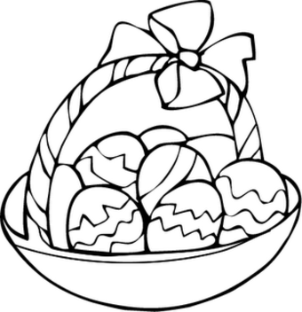 a easter egg coloring page photo - 1