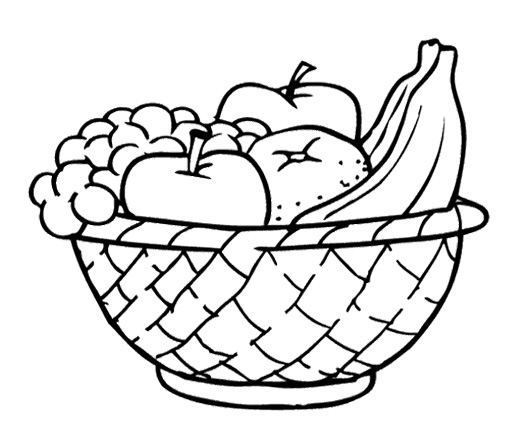 a for apple coloring page photo - 1