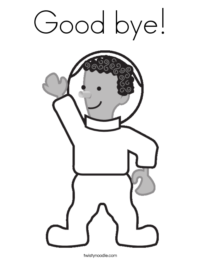 a is for astronaut coloring page photo - 1