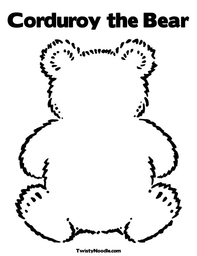 a pocket for corduroy coloring page photo - 1