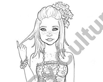 adult coloring book pages photo - 1