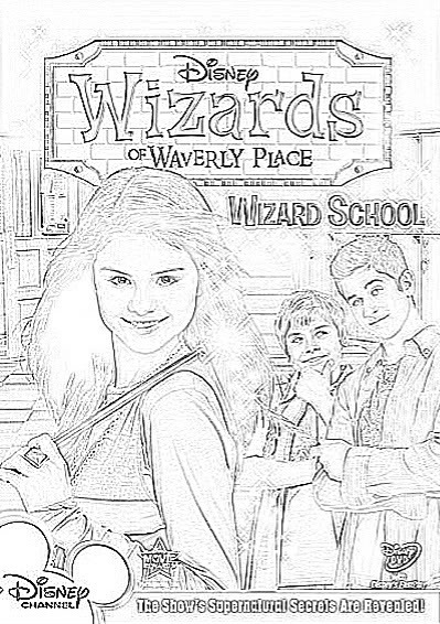alex russo coloring pages photo - 1