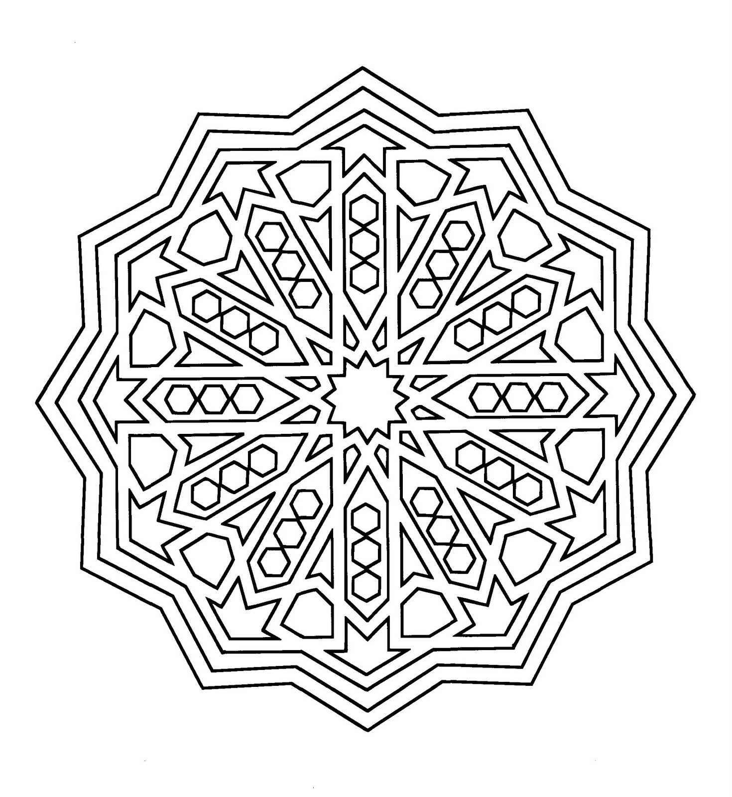 alhambra coloring pages photo - 1