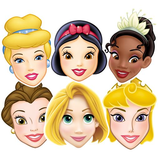 all disney princesses coloring pages photo - 1