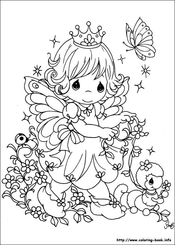 all precious moments coloring pages photo - 1