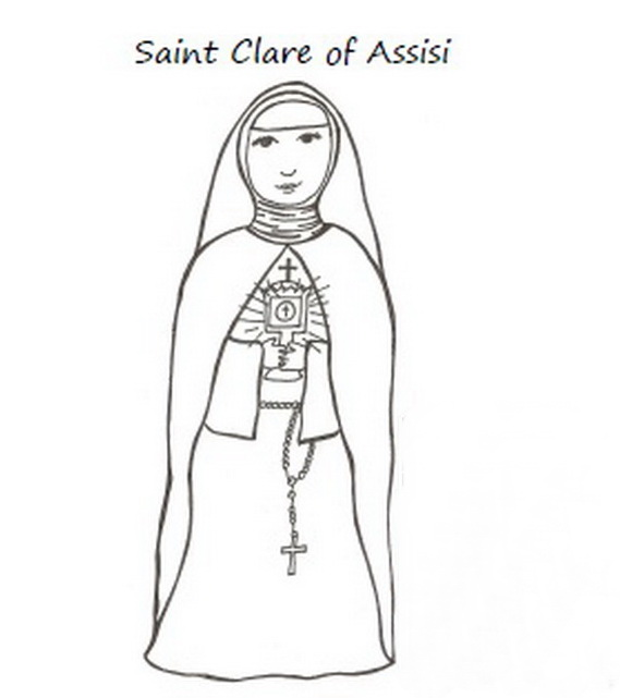 all saints coloring pages photo - 1