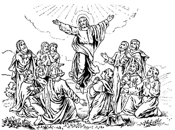 all saints day catholic coloring pages photo - 1