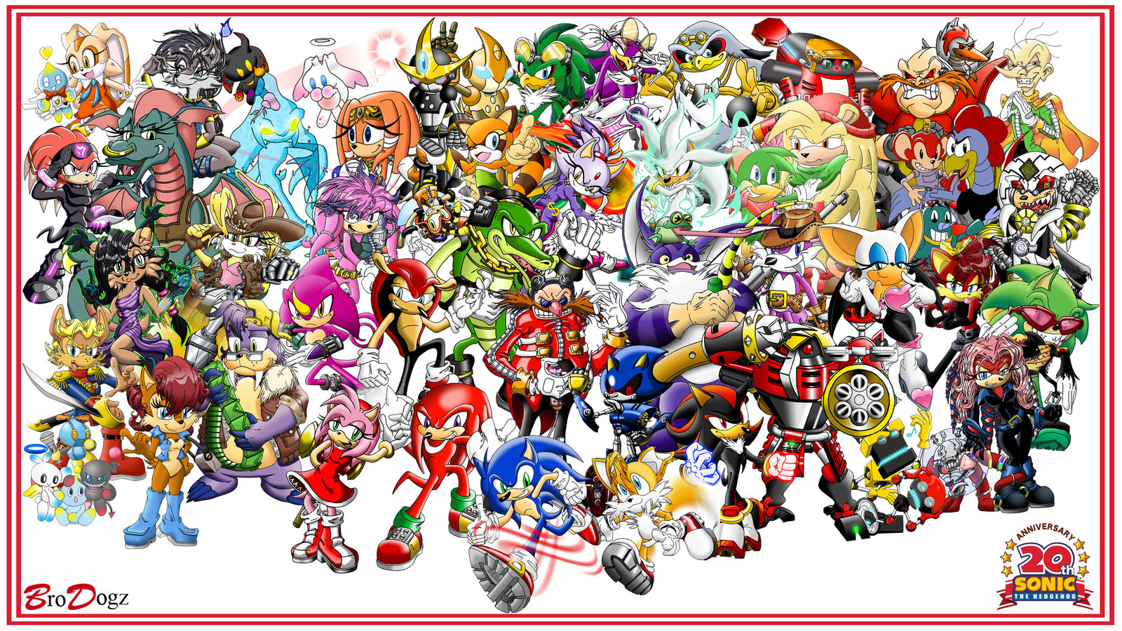 all sonic character coloring pages photo - 1