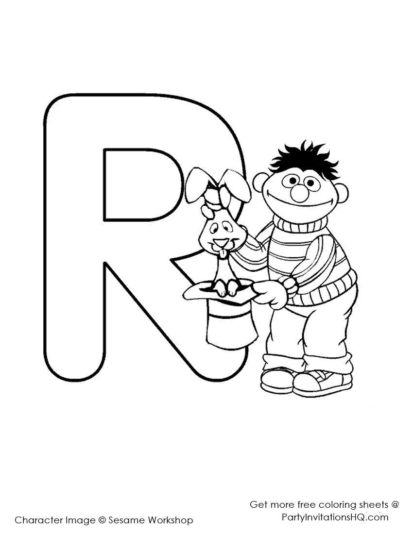 alphabet coloring pages fisher price photo - 1