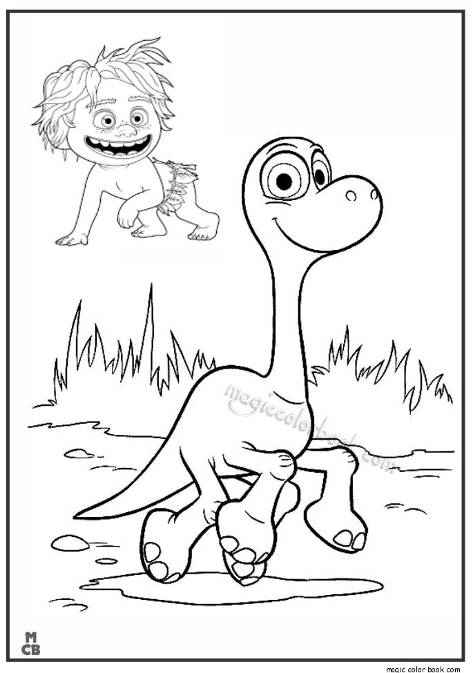 alphabet dinosaur coloring pages photo - 1