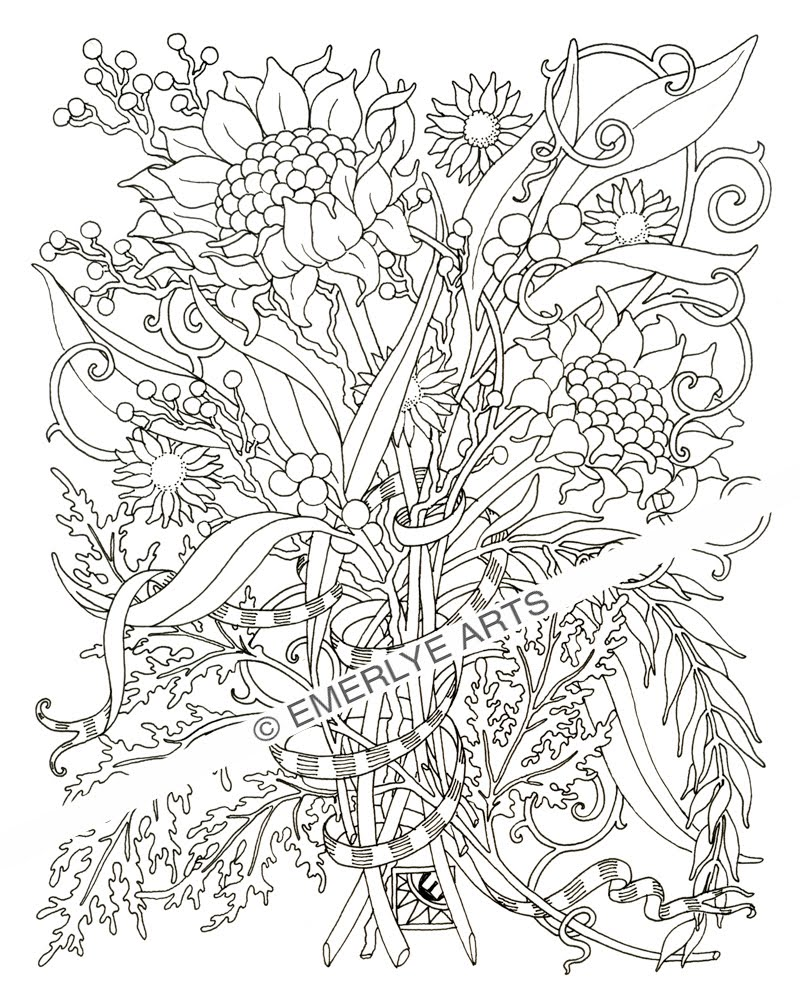 alphabet flower fairy coloring pages photo - 1