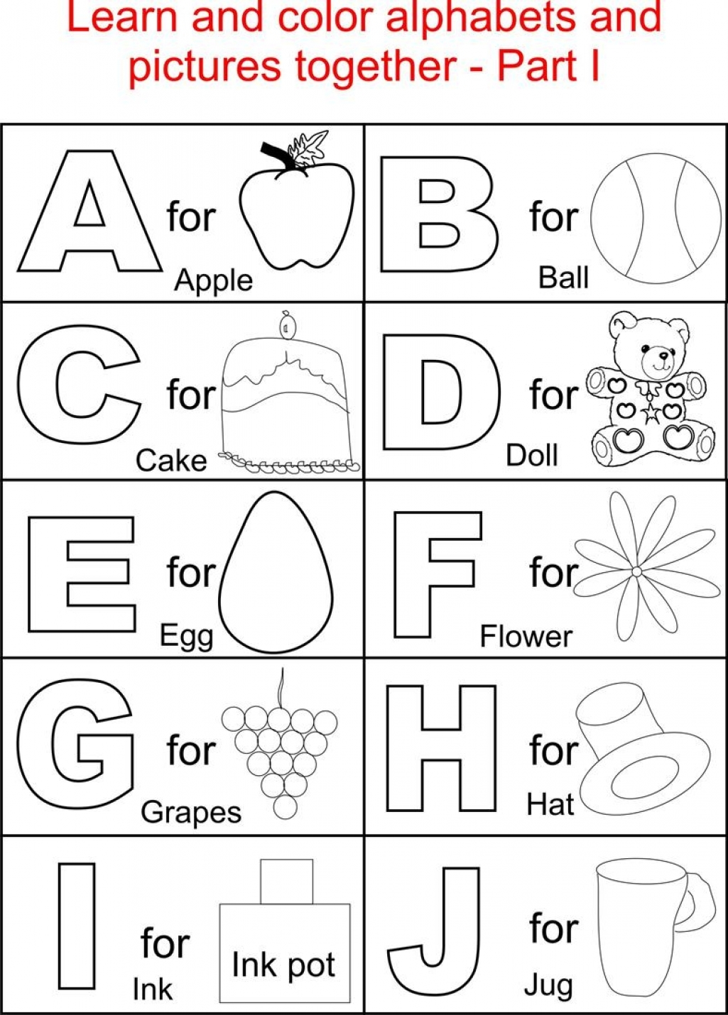 alphabet free coloring pages photo - 1